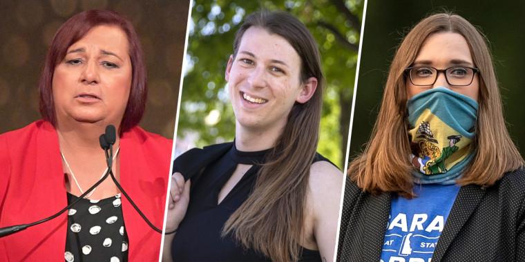 Stephanie Byers, Taylor Small, and Sarah McBride.