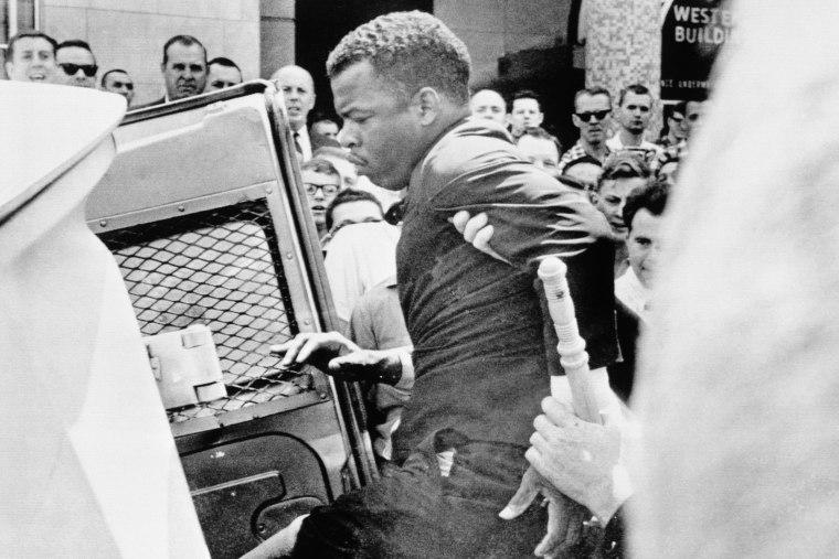 John Lewis Being Arrested in Nashville