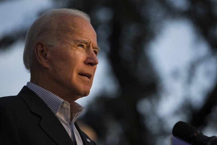 Image: Joe Biden at a campaign event in San Antonio, Texas, on Dec. 13, 2019.