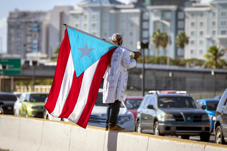 Protest In Puerto Rico