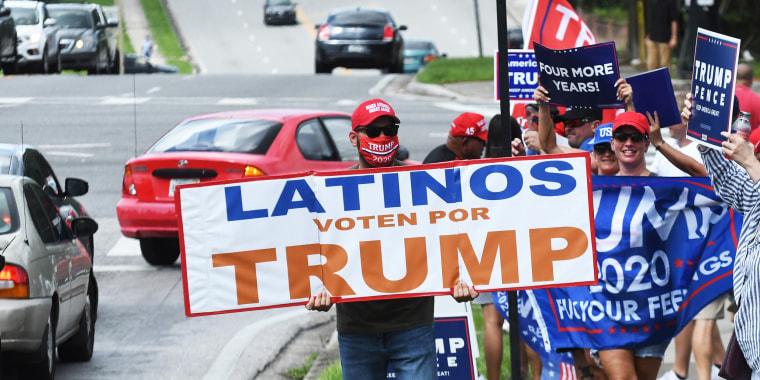 Image: Mike Pence Rallies Latinos For Trump In Orlando, Florida