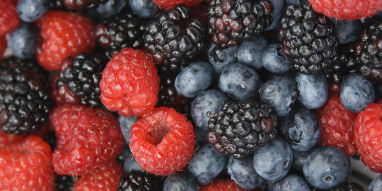 Fresh mixed berries