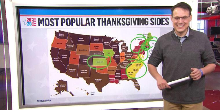 On Tuesday, Kornacki was talking turkey instead of politics.