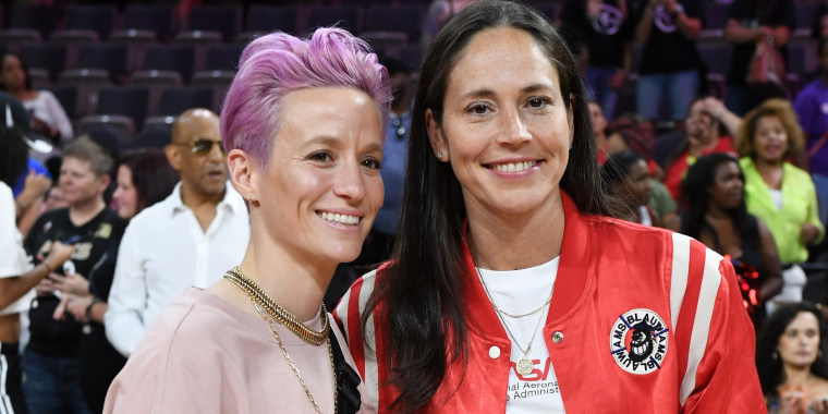 Image: FILE: Megan Rapinoe and Sue Bird Are Engaged