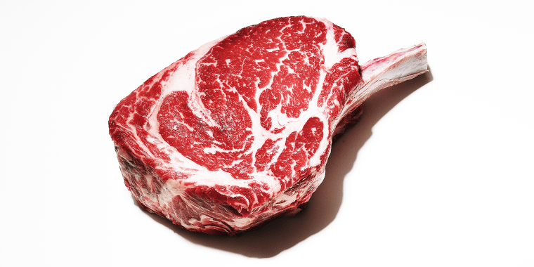Trimmed steak