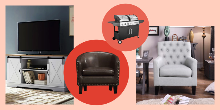 Shop TV stands, armchairs and grills during Wayfair's Black Friday Early Access sale.