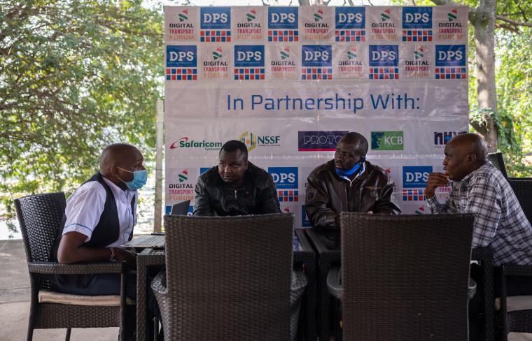 Image: Rhayan Kanyandong, Patrick Ombongiga, Wycliffe Alutalala and David Mutera