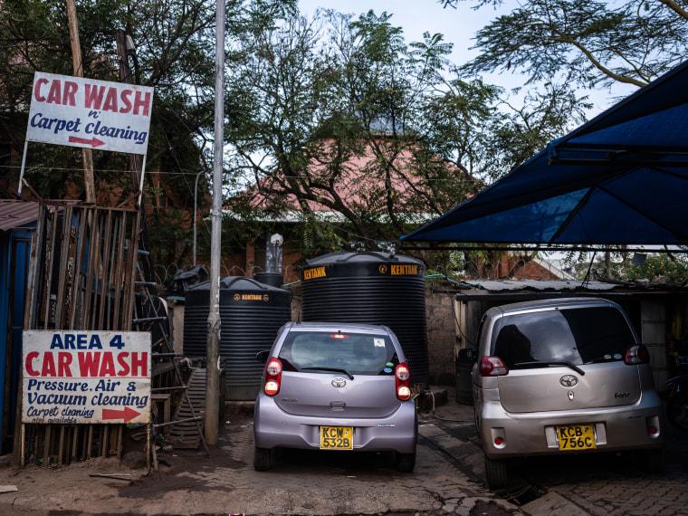 Image: Uber driver in Kenya