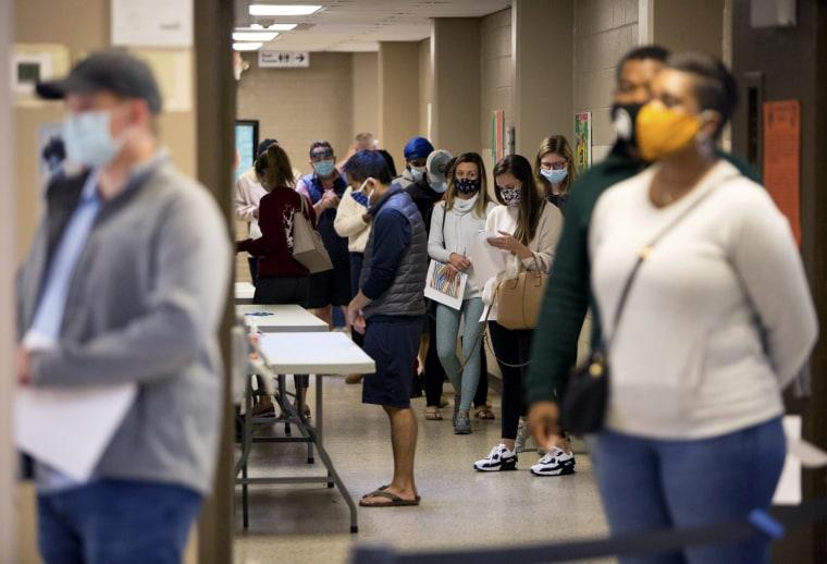 Image: Voters Georgia