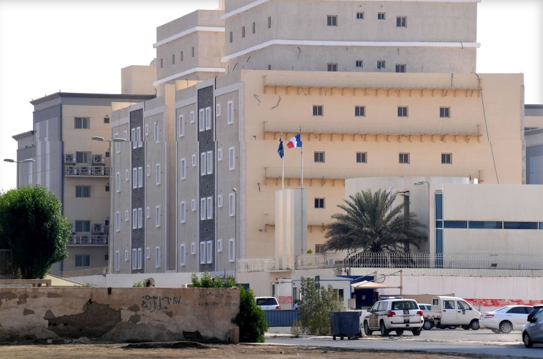 Image: The French consulate in Jiddah.