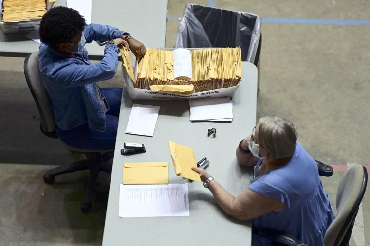 Image: Puerto Rico election ballots
