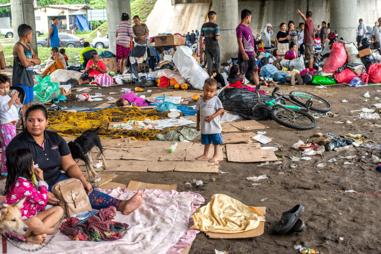 Image: Hurricane Eta Aftermath In Honduras