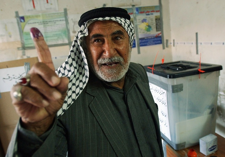 Image: Iraqis Go To The Polls For Parliamentary Elections