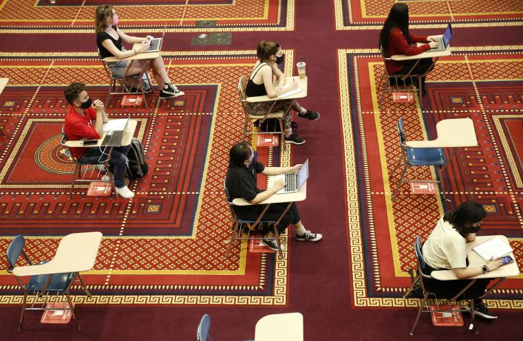 Image: Boston University, Pandemic Alters College Life