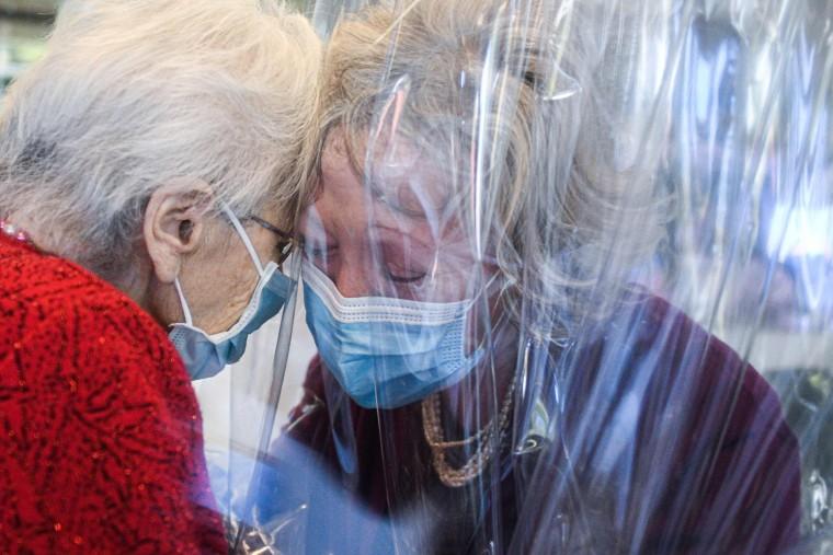 Image: TOPSHOT-ITALY-HEALTH-VIRUS-NURSING-HOME