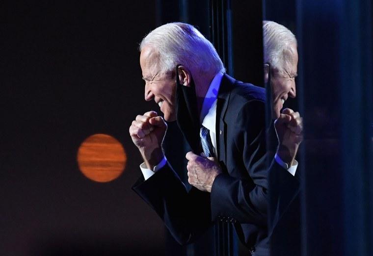 Image: TOPSHOT-US-VOTE-BIDEN-HARRIS-POLITICS