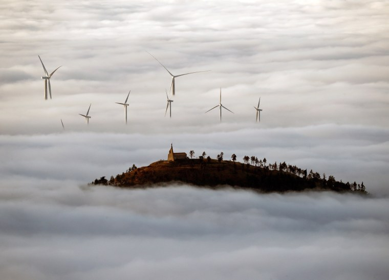 Image: Fog in the north of Spain