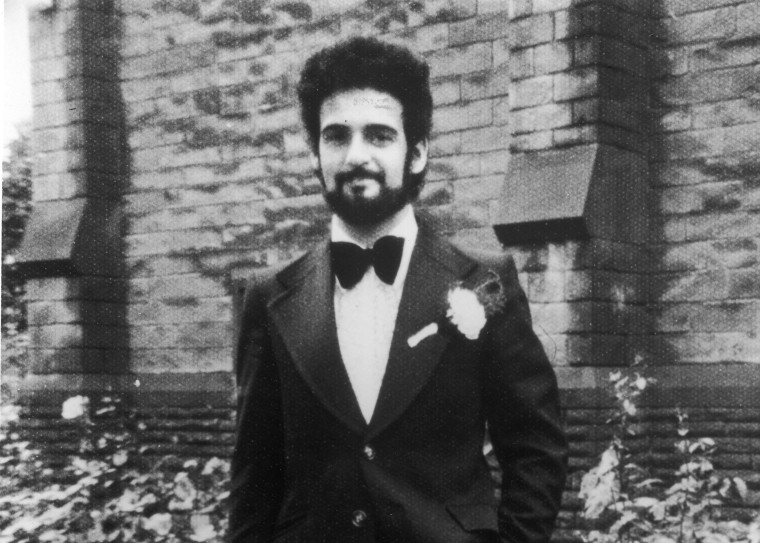 Image: British serial killer Peter Sutcliffe, a.k.a. 'The Yorkshire Ripper,' on his wedding day,