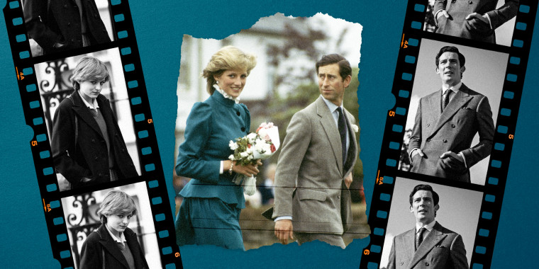 Image: Diana, Princess of Wales and Prince Charles