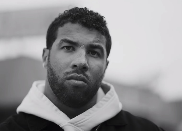 """Bubba Wallace makes an appearance in the new """"You Love Me"""" ad by Beats."""