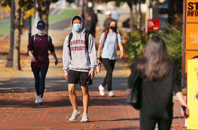 Image: BU Students Need To Show Confirmation They're Virus-Free