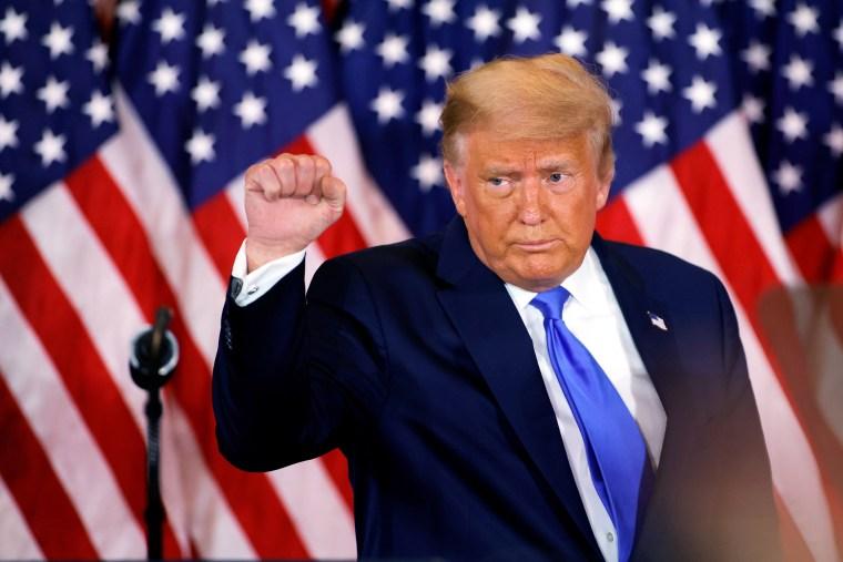Image: Donald Trump, fist
