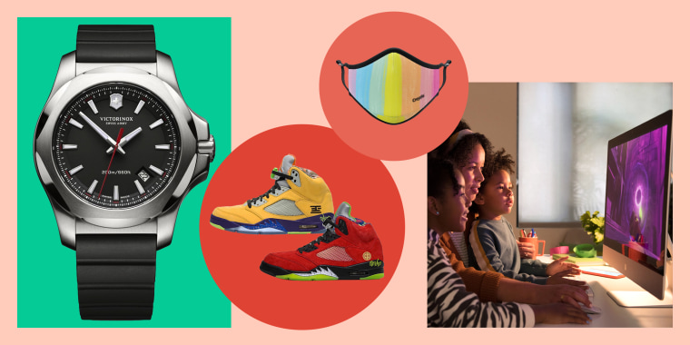 Latest products include a Victorinox Swiss Army watch, Vistaprint face masks, Air Jordan 5s, Apple iMac and more.