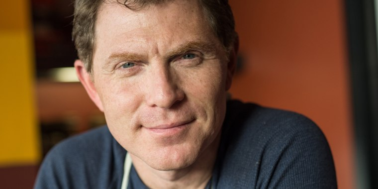"""""""If I made you the most delicious, creamy bowl of mashed potatoes, you'd have no idea what they looked like before. But mine are gonna cost (about) 40% less than your's, because you went out and bought the perfect-looking potato. It's all about the transformation,"""" Bobby Flay said."""