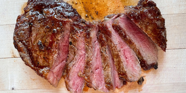Don't forget to let your steak rest before slicing into it!