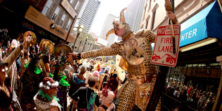 New Orleans Holds Annual Mardi Gras Celebration