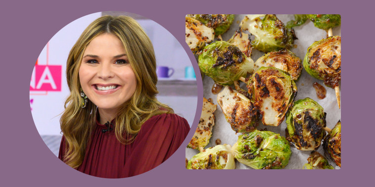 """My sprouts are the best thing I cook,"" Jenna told Hoda."
