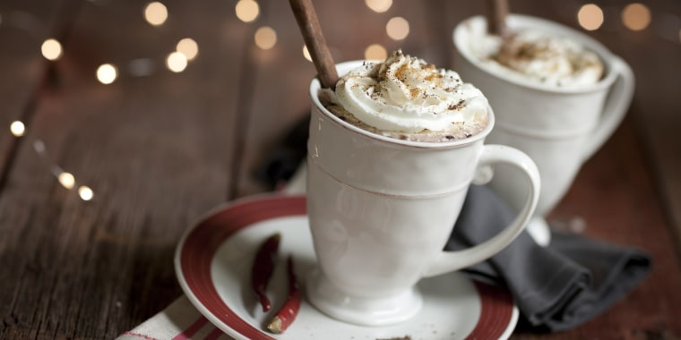 Mexican chili hot chocolate