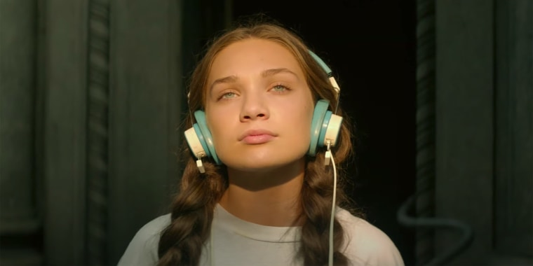Maddie Ziegler plays a teen named Music in the new film, which will be released in February 2021.