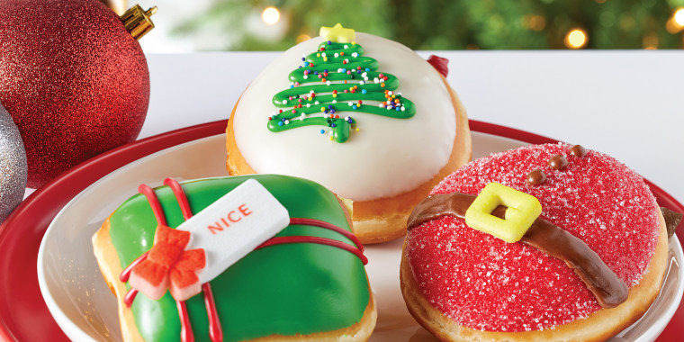Krispy Kreme is also releasing a new Nicest Holiday Collection on Nov. 27.