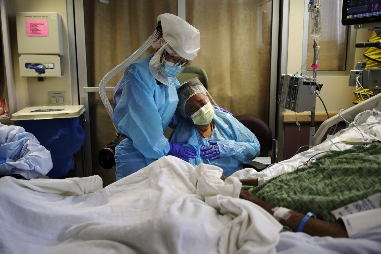 Image: Coronavirus patient