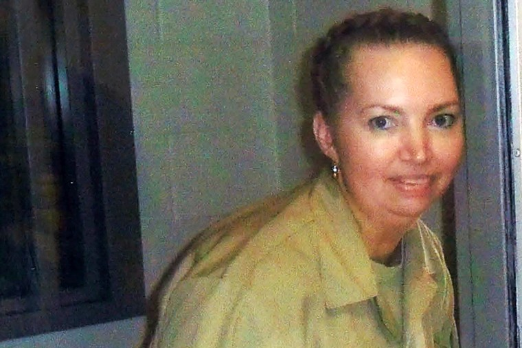 Image: Lisa Montgomery, a prison inmate scheduled for execution, poses at the Federal Medical Center (FMC) Fort Worth