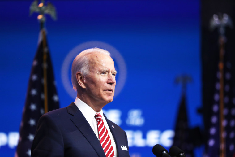 Image: President-Elect Joe Biden Makes Address On Nation's Economy