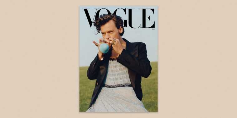 """For Harry Styles, """"clothes are there to have fun with and experiment with and play with."""""""