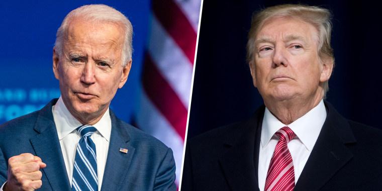 Image: Joe Biden, Donald Trump