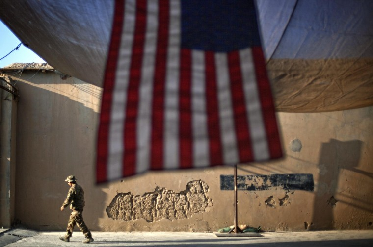 Image: A U.S. Army soldier in Afghanistan