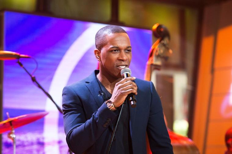 Image: ?EUR~Hamilton?EUR(TM) star Leslie Odom Jr. sings classic song ?EUR~Brazil?EUR(TM)