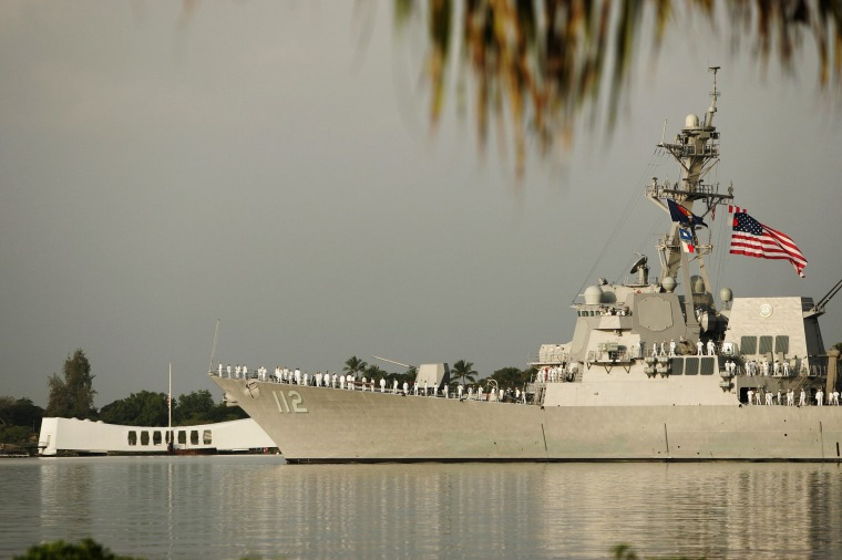 The USS Michael Murphy in 2012.