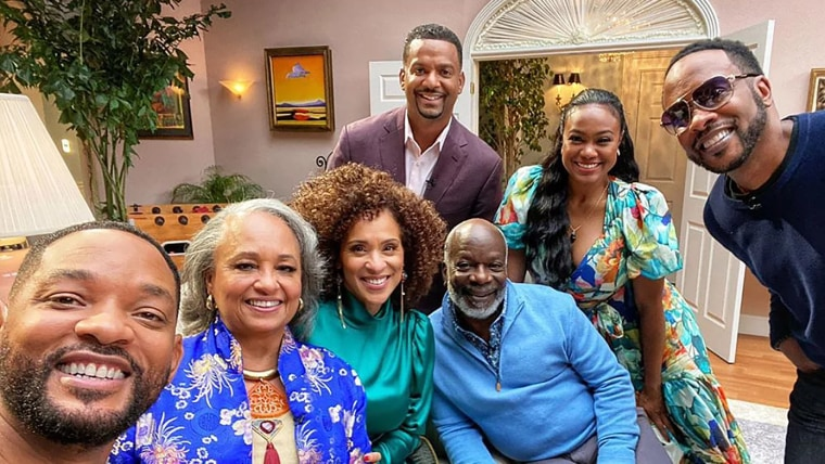 """The stars of """"The Fresh Prince of Bel-Air"""" gathered for a reunion special for HBO Max."""