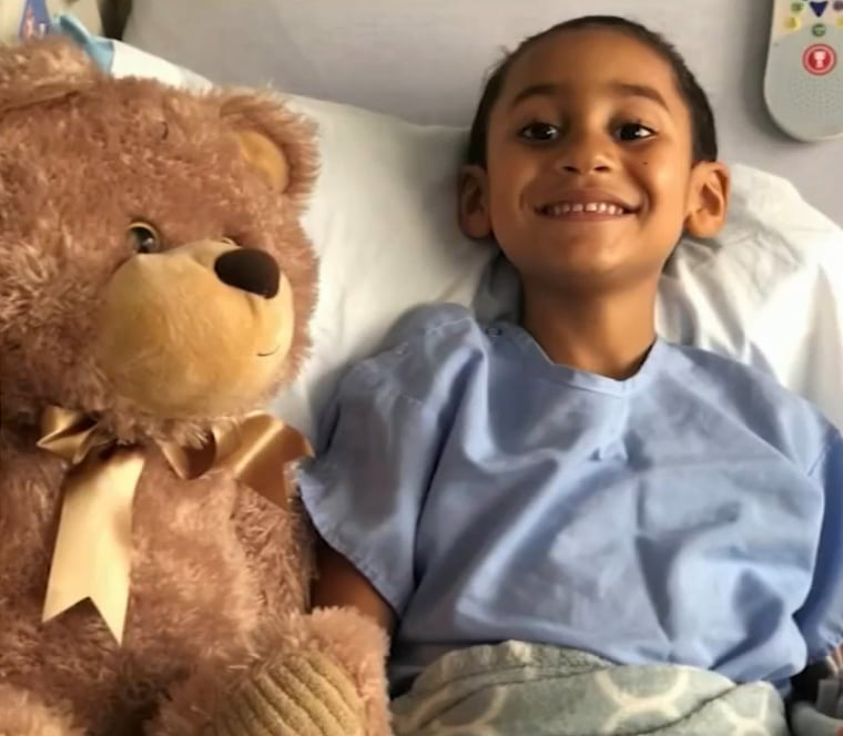 Cameron Moreau was hospitalized after eating toy magnets.