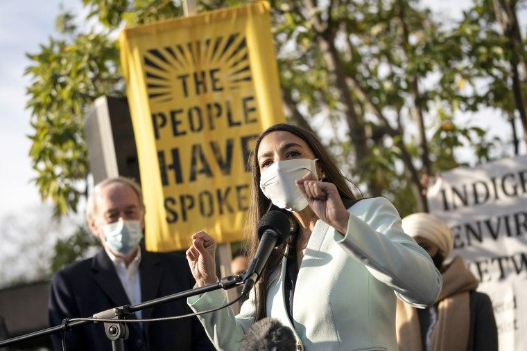 Image: Politicians, Activists Rally In DC For Progressive Agenda For Biden Administration