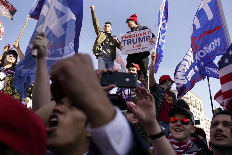 Image: Supporters of President Donald Trump