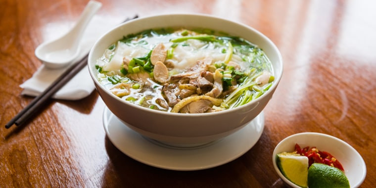 Bowl of Pho Soup