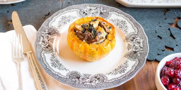 Fall vegetables are hearty enough on their own – no meat necessary.