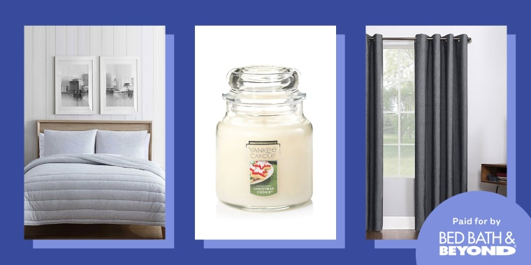 Cozy home essentials we'll be using our Bed Bath & Beyond coupons on this week