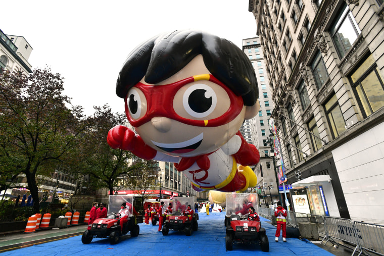 The World-Famous Macy's Thanksgiving Day ParadeAE Kicks Off The Holiday Season For Millions Of Television Viewers Watching Safely At Home